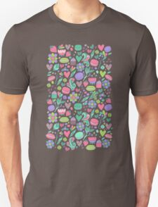 Macarons and flowers Unisex T-Shirt