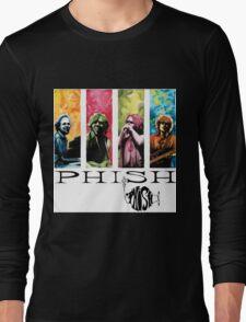 phish band concert white 2016 rizki Long Sleeve T-Shirt