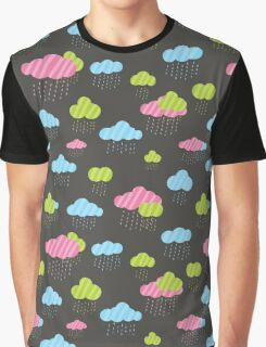 Rainy Clouds Graphic T-Shirt