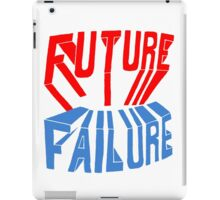 future failure hand lettering iPad Case/Skin