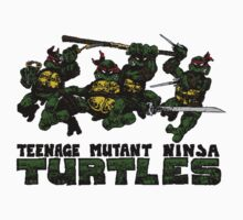 Teenage Mutant Ninja Turles One Piece - Long Sleeve