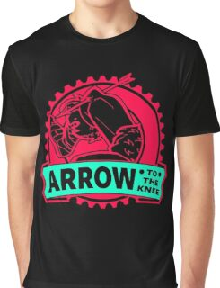 An Arrow In The Knee Graphic T-Shirt