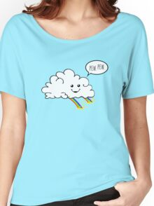 Friendly Cloud : Why there's a pot of gold at the end of every rainbow Women's Relaxed Fit T-Shirt