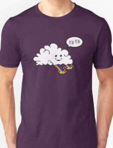 Friendly Cloud : Why there's a pot of gold at the end of every rainbow Unisex T-Shirt
