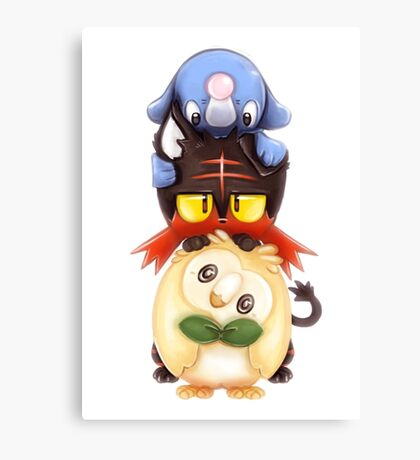 Pokemon Sun & Moon Canvas Print