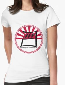 Nissan Cube Owners Club - Circle  Womens Fitted T-Shirt