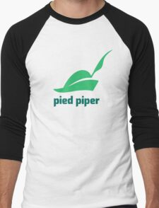 New Pied Piper Men's Baseball ¾ T-Shirt