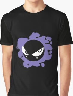 Gastly Silhouette  Graphic T-Shirt