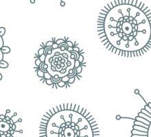 Cute simple doodle pattern Sticker