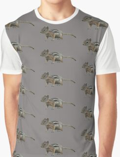 Rocky Mountain Chipmunk Graphic T-Shirt