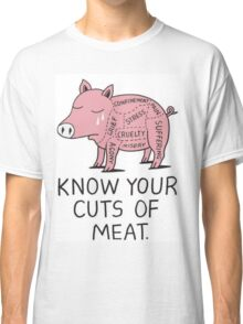 KNOW YOUR CUTS OF MEAT Classic T-Shirt