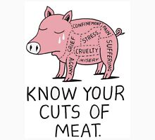 KNOW YOUR CUTS OF MEAT Unisex T-Shirt