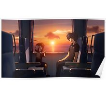 Ushio And Tomoya Clannad Poster