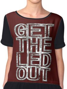 Get The Led Out Chiffon Top