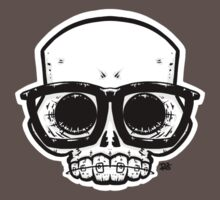 Nerd Skull One Piece - Short Sleeve