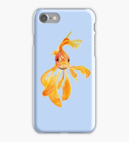 Fantail Goldfish iPhone Case/Skin