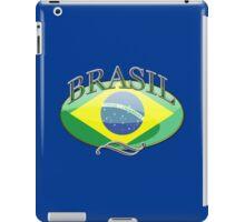 Brasil Button iPad Case/Skin