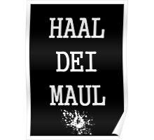 SoÄ - Haal Dei Maul Poster