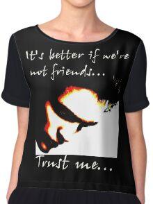 Trust Me Twilight Chiffon Top