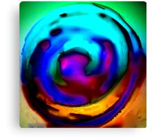 Crystal Ball Orange Canvas Print