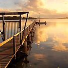 Pier at sunset by cs-cookie