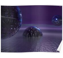 Mysterious Orbs Poster
