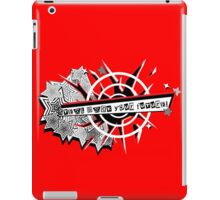 Persona 5 steal dat future iPad Case/Skin