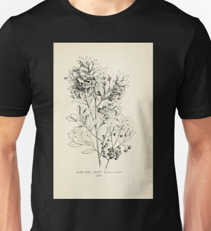 Southern wild flowers and trees together with shrubs vines Alice Lounsberry 1901 123 Wicky Unisex T-Shirt