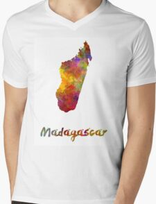 Madagascar in watercolor T-Shirt