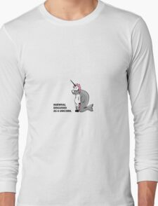 Narhwal Disguised As A Unicorn T-Shirt