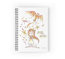 Lover not Fighter Spiral Notebook