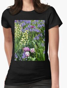 Pastel Garden Womens Fitted T-Shirt