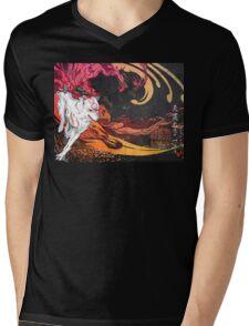Amaritsu Mens V-Neck T-Shirt