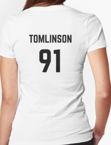 TOMLINSON 91 Womens Fitted T-Shirt