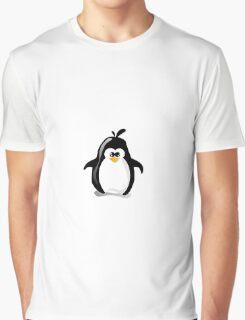 Linux Penguin Graphic T-Shirt