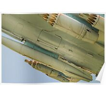 Jet Aircraft Undercarriage Poster