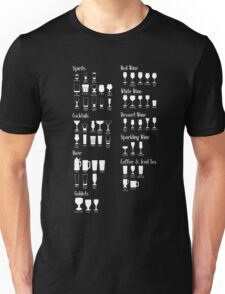 Which Glass To Use Infographic Unisex T-Shirt