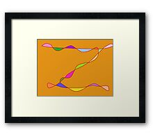 Zorro in Technicolor  Framed Print