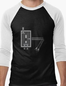 Retro RF switch Men's Baseball ¾ T-Shirt