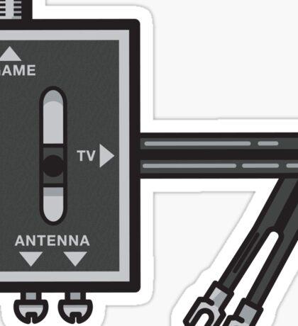 Retro RF switch Sticker