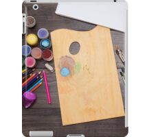 colored pencils paint brush  iPad Case/Skin