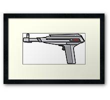 Atari XE Zapper Framed Print