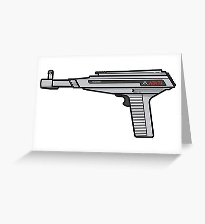 Atari XE Zapper Greeting Card