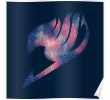 Fairy Tail galaxy logo Poster