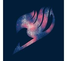 Fairy Tail galaxy logo Photographic Print