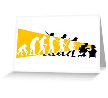 Evolution Greeting Card