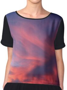 Cotton Candy - Dusk Collection Chiffon Top