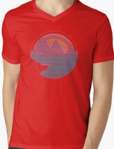 The Mountains Are Calling Mens V-Neck T-Shirt