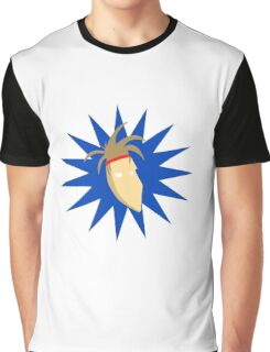 Johnny Catastrophe Vector Face Graphic T-Shirt