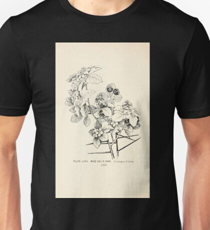 Southern wild flowers and trees together with shrubs vines Alice Lounsberry 1901 075 Miss Vail's Haw Unisex T-Shirt